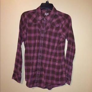 Wrangler rock 47 plaid shirt